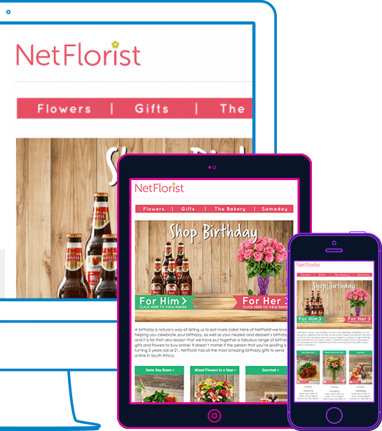 Why | Everlytic | NetFlorist | Device | Email Examples