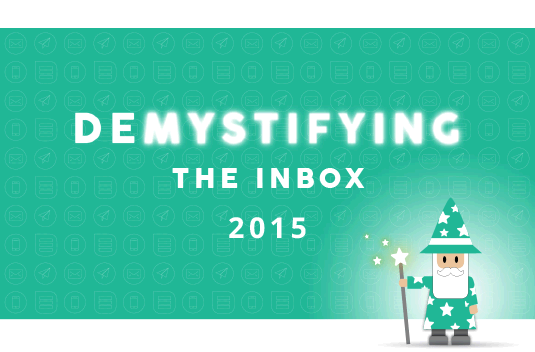 Demystifying the Email Inbox 2015 | South Africa | Everlytic