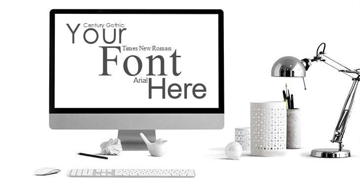 Email Safe Fonts for Email Marketing