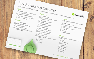 Everlytic's guide to email marketing checklist | Image | Wooden floors