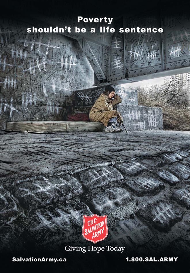 Emotional marketing | Charity ad that induces sadness | The Salvation Army | Everlytic