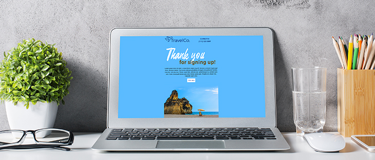 How to Get the Most Out of Landing Pages (Part 1) | What is a landing page | Blue landing page