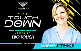 The Touch Down interview with Karyn Strybos | Email marketing | Everlytic | IMC Conference | Bio Picture