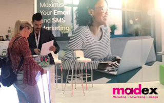 Madex 2019 | Everlytic stand | Email marketing platform | Marketing expo