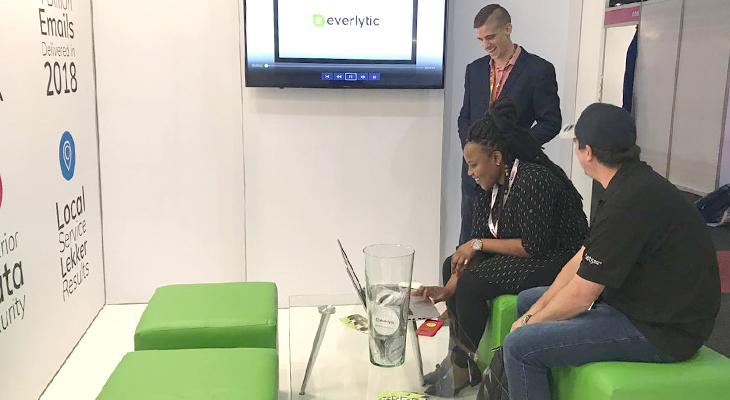 Madex 2019   Everlytic stand   Meeting hub setup   Email marketing platform