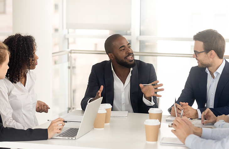 How to Compile a Crisis Communication Team | Everlytic | Email automation software | Blog image | Businesspeople having a meeting