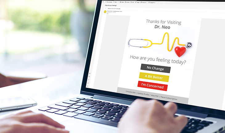 Humanising Automated Medical Communication for Better Patient Relationships | Everlytic }| Automated email from doctor